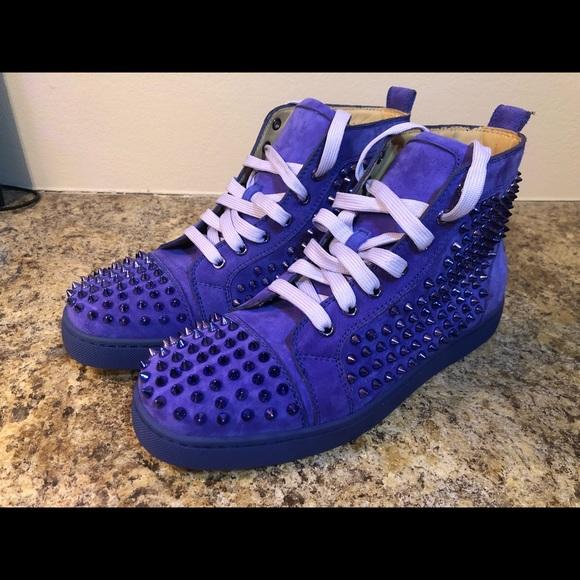 e34c40610d1 Christian Louboutin Pervenche Spikes - Purple